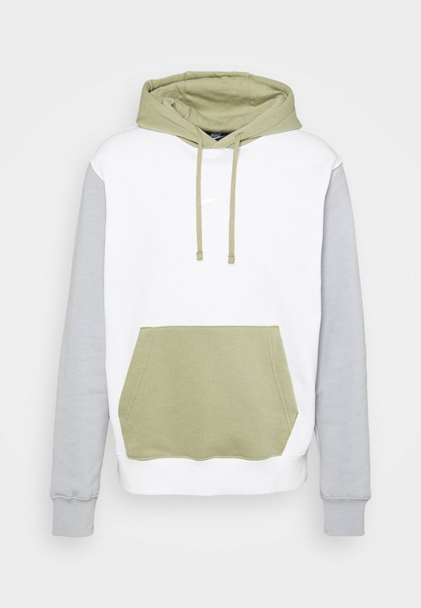 Nike Sportswear HOODIE - Bluza - summit white/light smoke grey/biały Odzież Męska CSNT