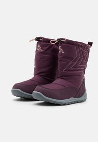 Kappa - CESSY TEX UNISEX - Winter boots - purple/rosé - 1