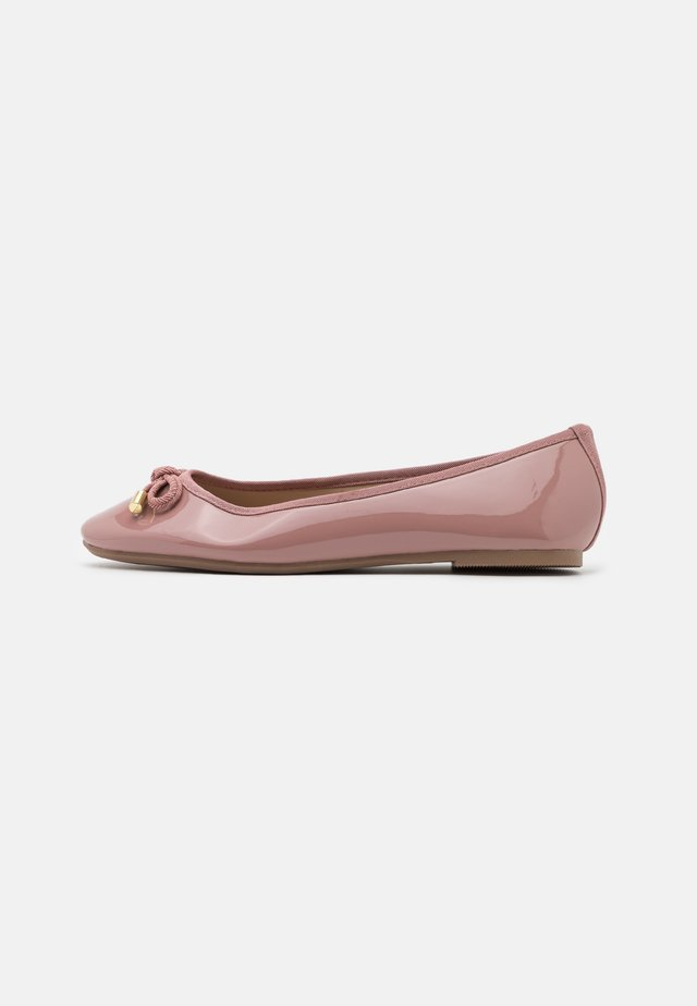 WIDE FIT BOW - Ballerines - blush