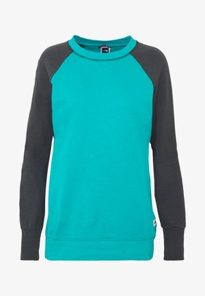 WOMENS LIGHT CREW - Bluza - jaiden green