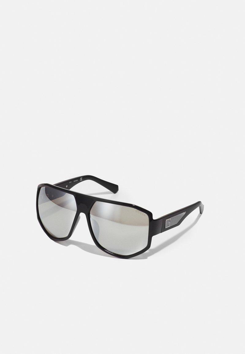 Guess - Sunglasses - shiny black/smoke mirror