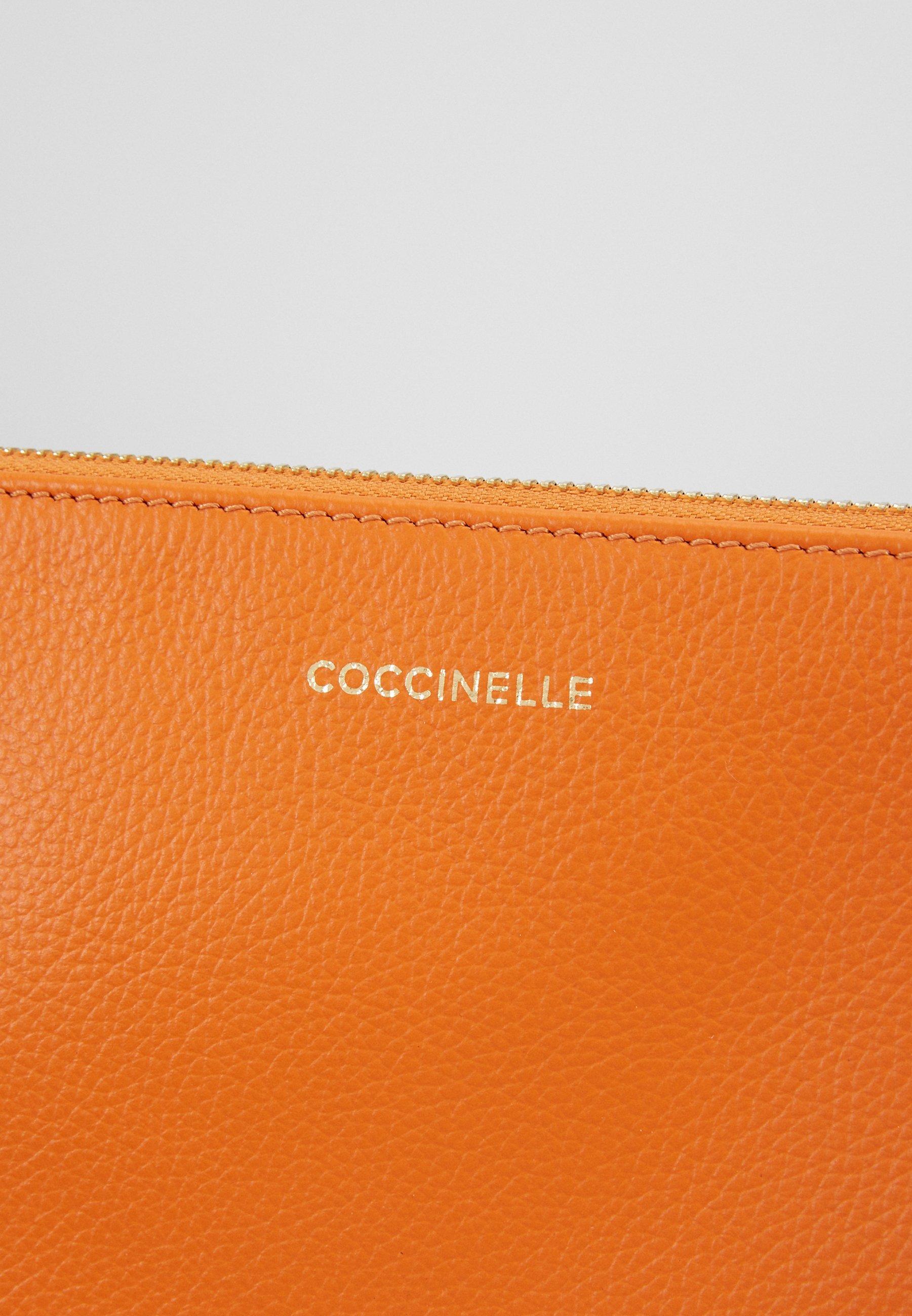 Coccinelle BEST CROSSBODY SOFT - Skulderveske - ginger/oransje Dow86CRY1LZ0UuQ