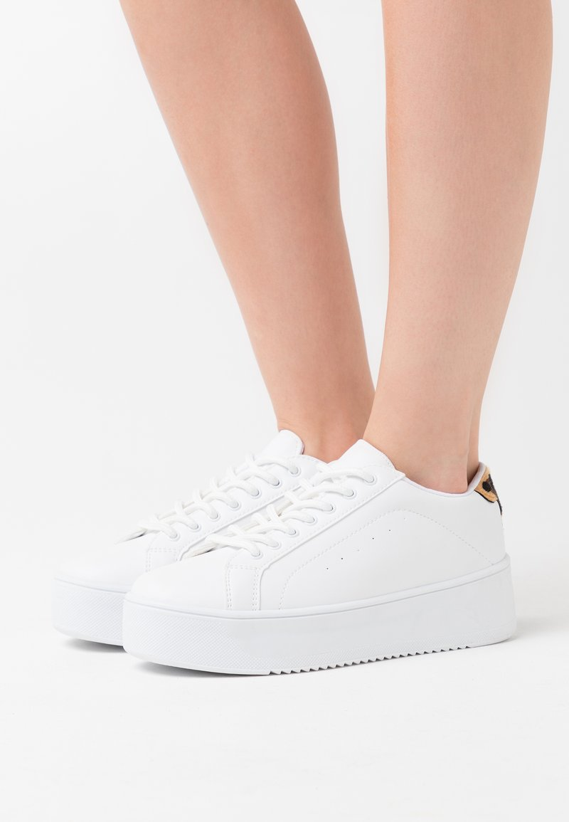 Nly by Nelly - GO FLEX PLATFORM - Trainers - white