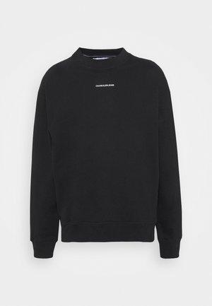 MICRO BRANDING UNISEX - Sweatshirt - black