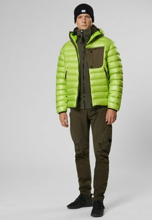 Down jacket - lime green