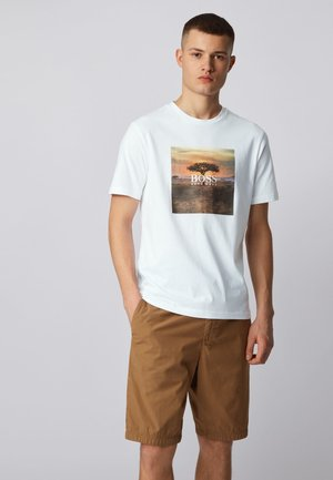 TROAAR 5 - Print T-shirt - white