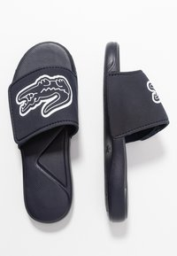 Lacoste - L.30 STRAP - Mules - navy/white - 0