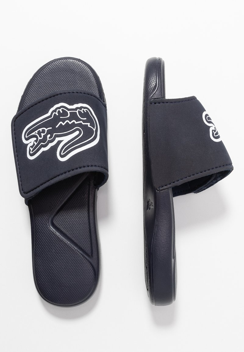 Lacoste - L.30 STRAP - Mules - navy/white