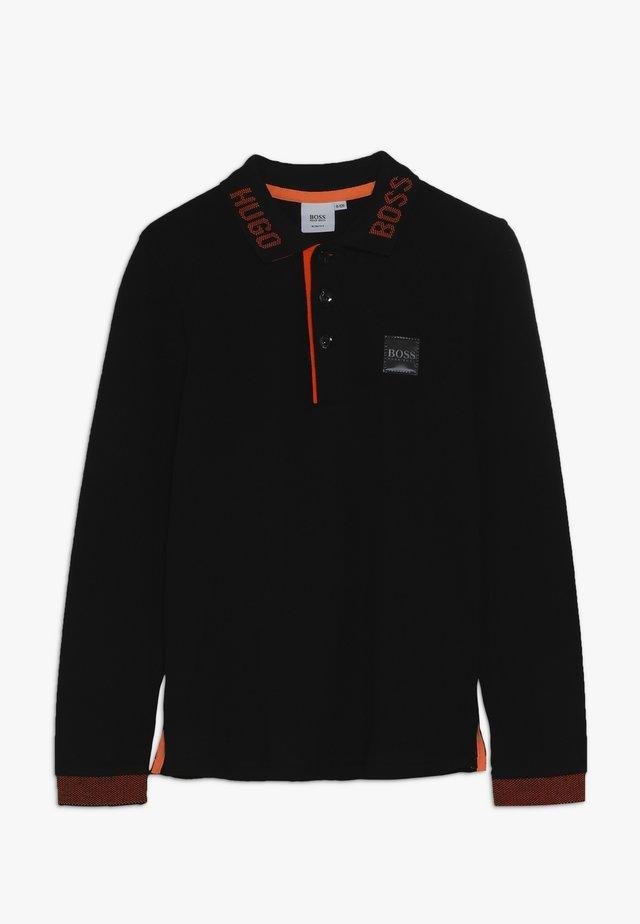LANGARM  - Polo - schwarz