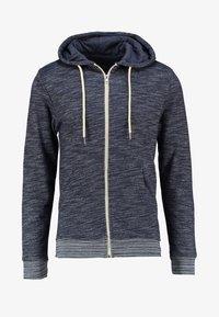 Blend - REGULAR FIT - Zip-up hoodie - navy - 5