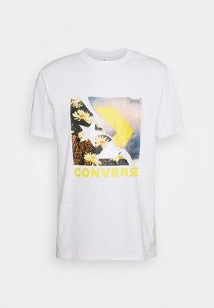DIGITAL PRINT GRAPHIC TEE - Print T-shirt - white