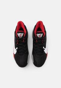 Nike Performance - ZOOM FREAK 2 - Scarpe da basket - black/white/university red - 3