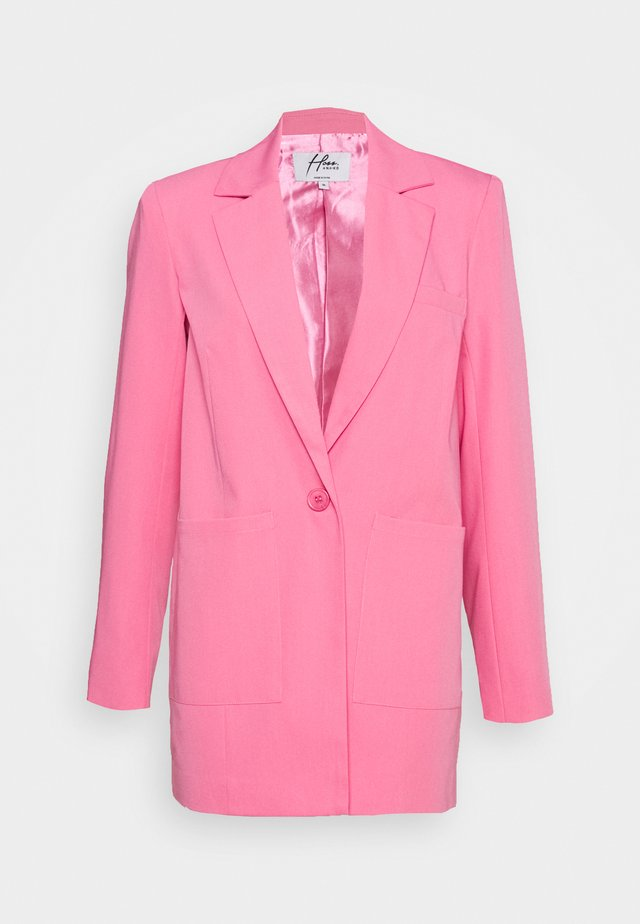 HOSS X NA-KD PADDED OVERSIZED  - Blazer - pink