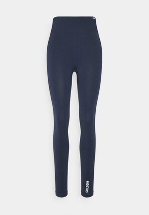 SEAMLESS LEGGINGS - Leggings - blau