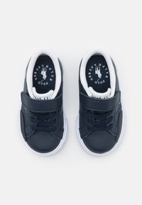 Polo Ralph Lauren - THERON IV UNISEX - Trainers - navy tumbled/white - 3
