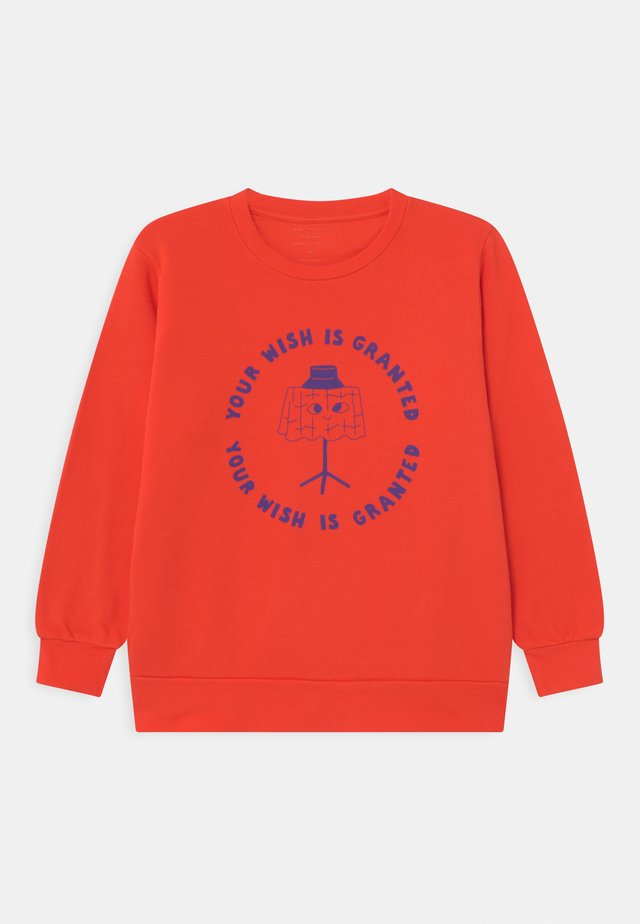 WISHING TABLE UNISEX - Sweatshirt - red