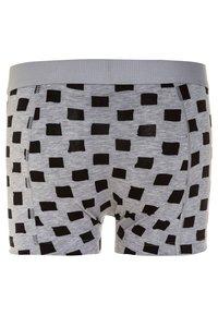 Ten Cate - BOYS SHORT 2 PACK - Panties - light grey melee/deep blue - 1