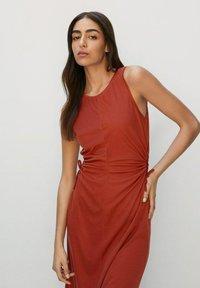 Mango - GABI - Robe d'été - rouge orangé - 2