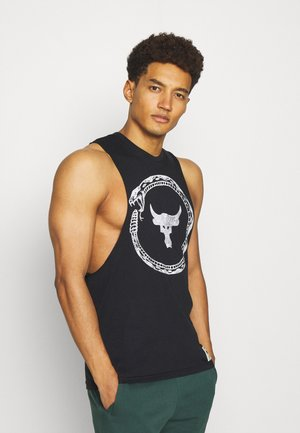 ROCK SAME GAME TANK - Top - black