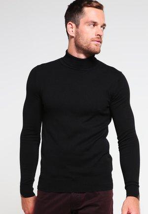HENRIK - Stickad tröja - black