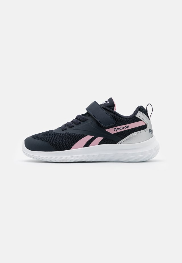 RUSH RUNNER 3.0 UNISEX - Obuwie do biegania treningowe - night navy/pink/silver metallic