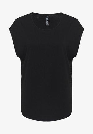 ACTIVE SCOOP HEM - Koszulka sportowa - black