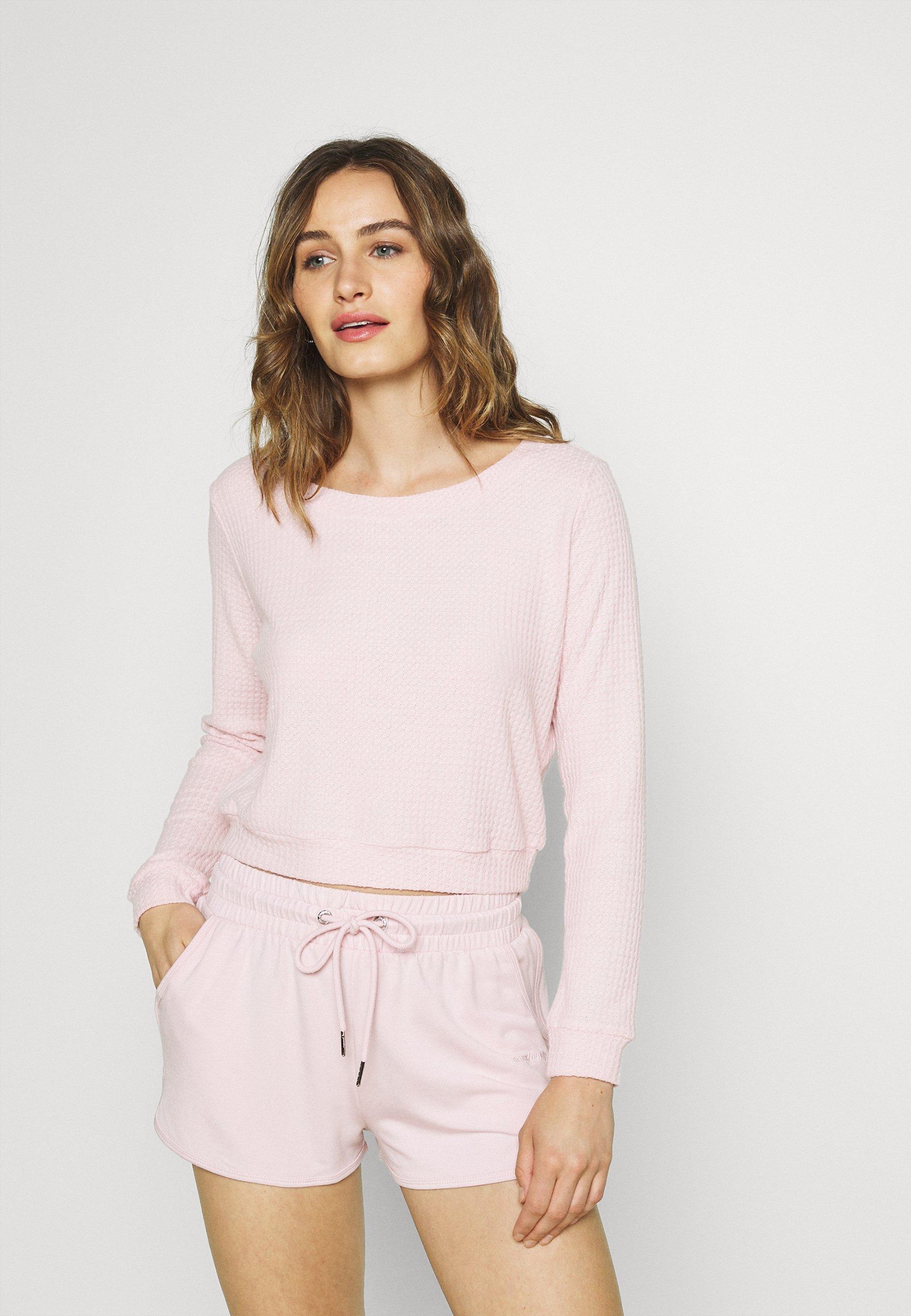 Damen WAFFLE - Nachtwäsche Shirt
