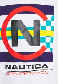 NAUTICA COMPETITION - GRAPNELL - Print T-shirt - white - 2