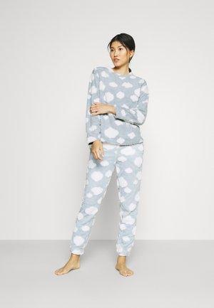 ONLCAYA NIGHTWEAR SET - Pyjama set - blue fog