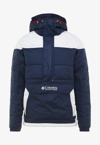 Columbia - LODGE PULLOVER JACKET - Vinterjakker - collegiate navy/white - 5