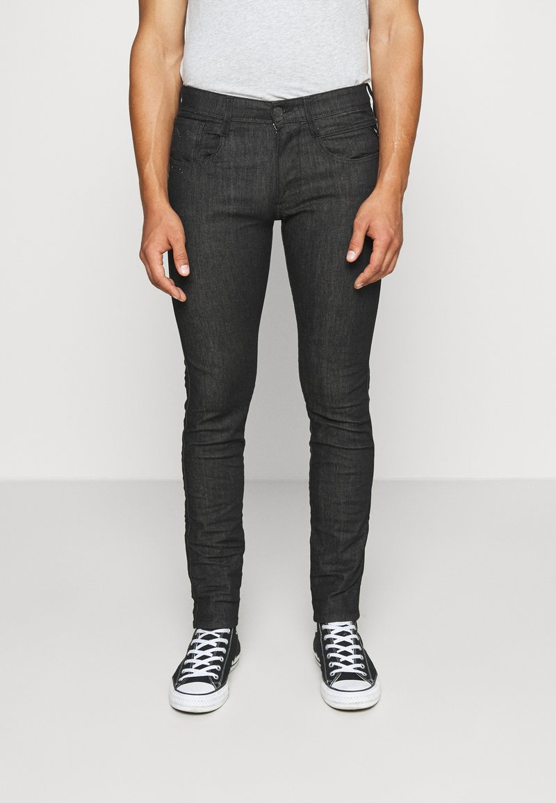 Replay - ANBASSX LIGHT - Jeans Skinny Fit - black
