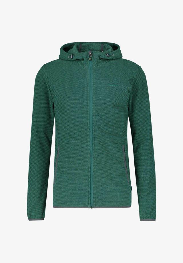 HOLMESTRAND - Fleece jacket - petrol