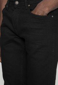 TOM TAILOR DENIM - SUPER PIERS  - Slim fit jeans - black denim - 5