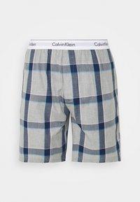 Calvin Klein Underwear - SLEEP SHORT - Nachtwäsche Hose - grey - 0