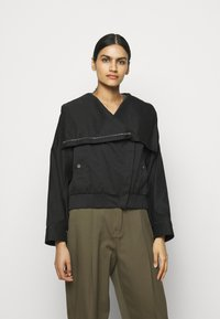 3.1 Phillip Lim - JACKET WITH EXAGGERATED COLLAR - Light jacket - black - 2