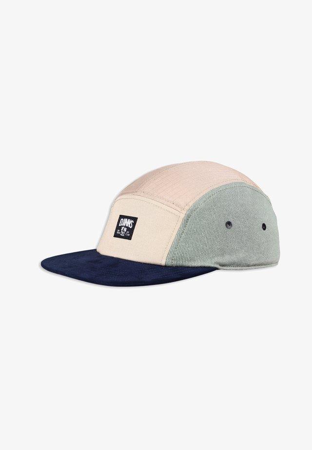 Cappellino - khaki navy