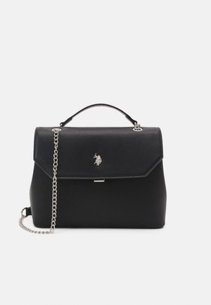 JONES FLAP SHOULDER BAG  - Handbag - black