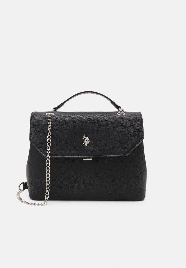 JONES FLAP SHOULDER BAG  - Handtas - black