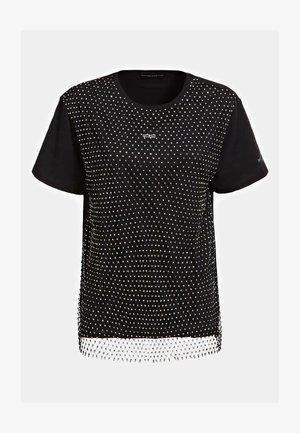 NETZEINSATZ - T-shirt print - schwarz