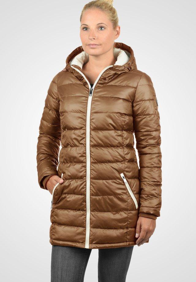DORI - Winter coat - cinnamon