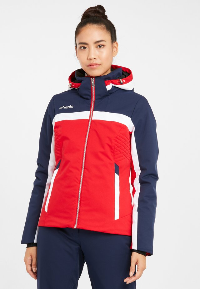 WILLOW - Ski jacket - red
