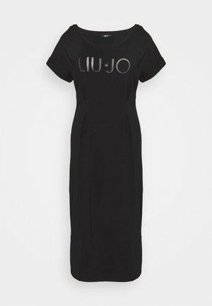 ABITO - Vestito di maglina - nero