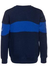 adidas Originals - BANDRIX CREW - Sudadera - night indigo/royal blue/white - 1