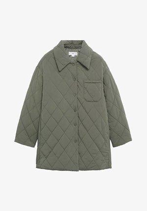 MET KNOPEN - Winter coat - kaki