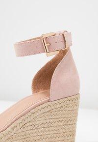 Anna Field - Sandaler med høye hæler - nude - 2