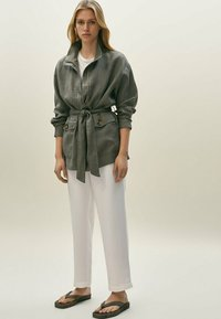 Massimo Dutti - Summer jacket - khaki - 0