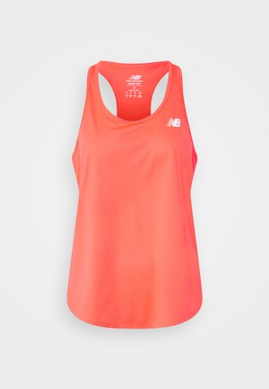 ACCELERATE TANK - Topper - vivid coral