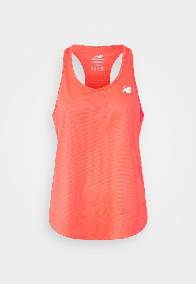 ACCELERATE TANK - Linne - vivid coral