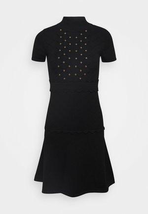 DOMINICA DRESS - Vestido de punto - nero