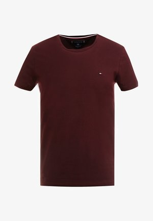 SLIM FIT TEE - T-shirt con stampa - red